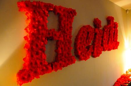 Heidi en fleurs