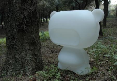 Art toy blanc