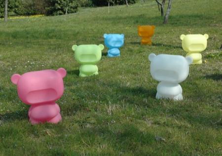 Art toys Pure dans les champs