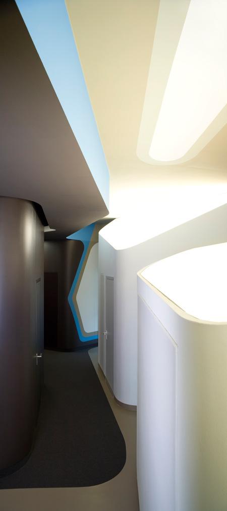 Cabinet dentiste futuriste