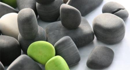 Coussin galet Felt rocks