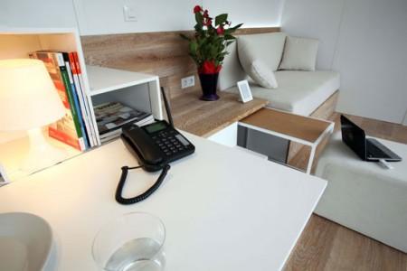 mobile home high tech cologique vodafone. Black Bedroom Furniture Sets. Home Design Ideas