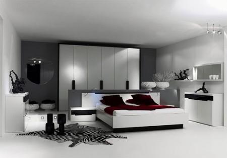Couleurs chambre moderne