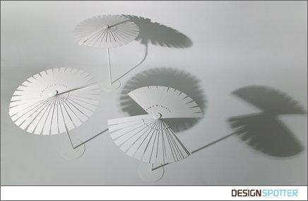 Parasol pliable design