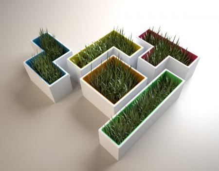 Pot Tetris - Stéphanie Choplin