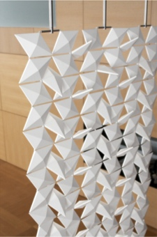 séparateur de pièces bloomming lightfacet - Meuble Separation De Pieces Design