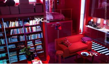 Déco rouge Ikea 2010