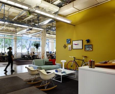 Intérieur design des bureaux Facebook