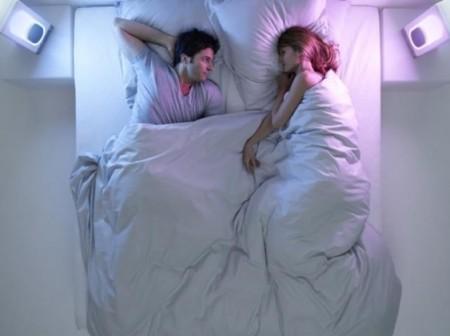Night cove couleur blanc aide au réveil