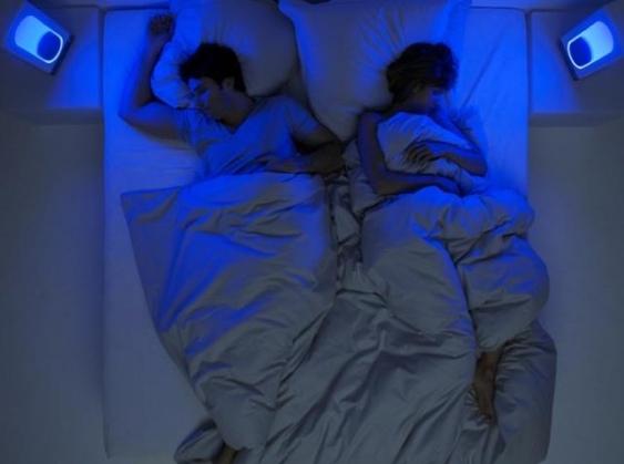 night cove bleu aide pour mieux dormir. Black Bedroom Furniture Sets. Home Design Ideas