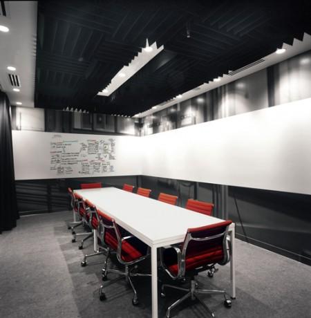 Salle de réunion Facebook