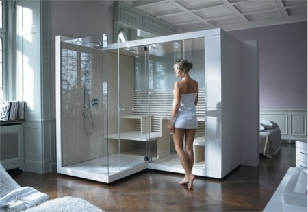 Sauna chromathérapie Inipi Duravit