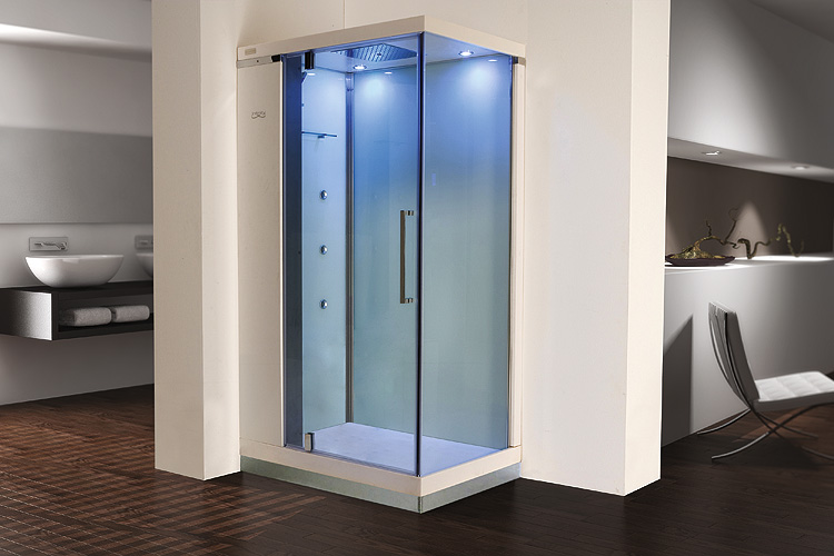 Cabine de douche design rectangle - Cabine douche complete 80x80 ...