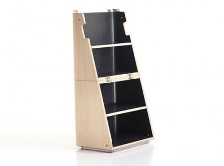 Cube Scalo bibliothèque ou échelle
