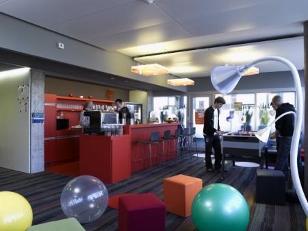 Bar dans les bureaux de Google Allemagne