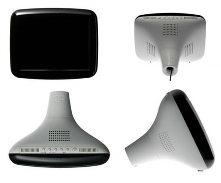 Plusminuszero téléviseur LCD au design vintage