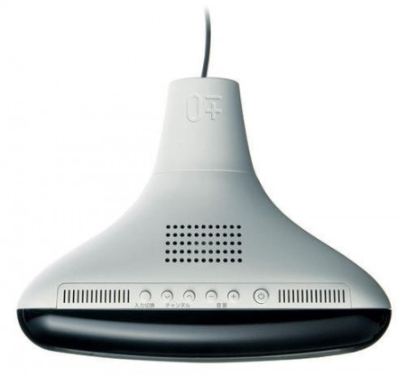 Plusminuszero téléviseur LCD avec un design cathodique