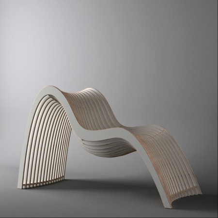 Wavy chair by Untothislast