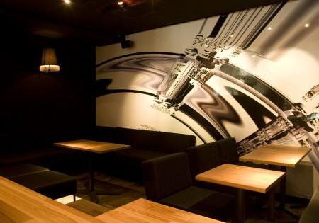 Espace bar lounge du concept store CLS