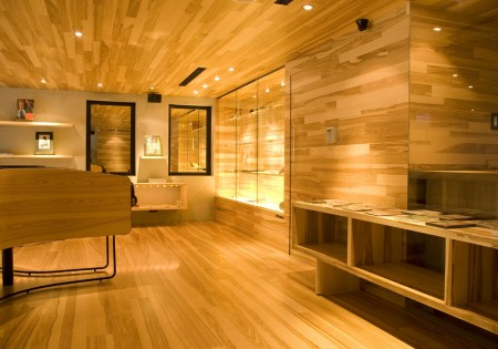 Boutique tout en bois design