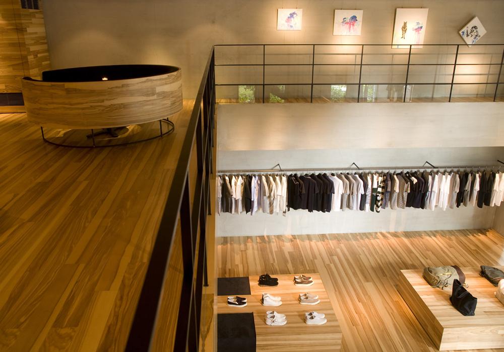 Mezzanine du concept store cls for Idee mezzanine