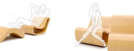 Rocking chair en bois Magic chair