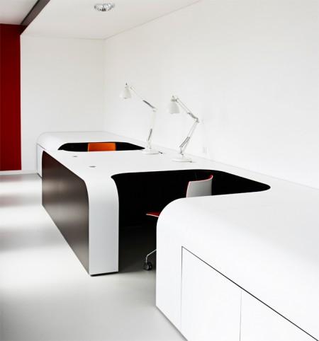 Bureaux design de l'agence de com Syzygy