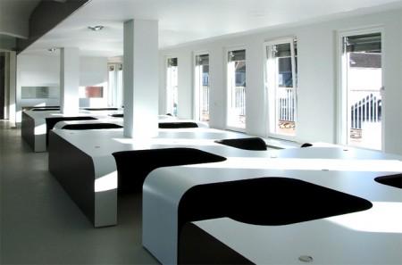 Bureaux open space design Syzygy