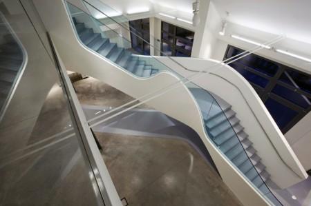 Escalier courbe design Fornari