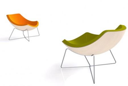 La Palma OC chair vert / jaune