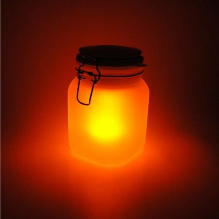 Pot lumineux Solar jar