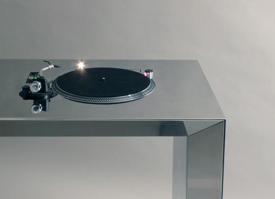 table de mixage dj chrom e. Black Bedroom Furniture Sets. Home Design Ideas