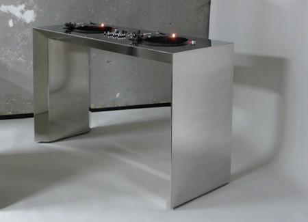 Table de mixage DJ en acier Metrofarm