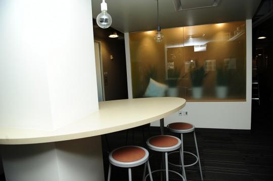 Bureaux Twitter - coin café