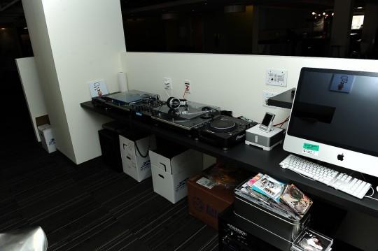 Bureaux Twitter - espace DJ