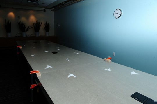 Bureaux Twitter - salle de réunion