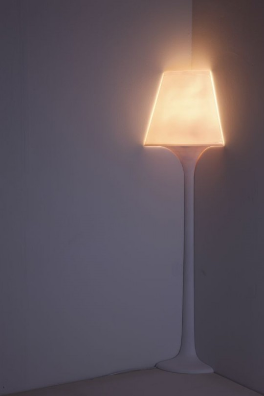 Lampadaire d'angle Stand 1/4 light
