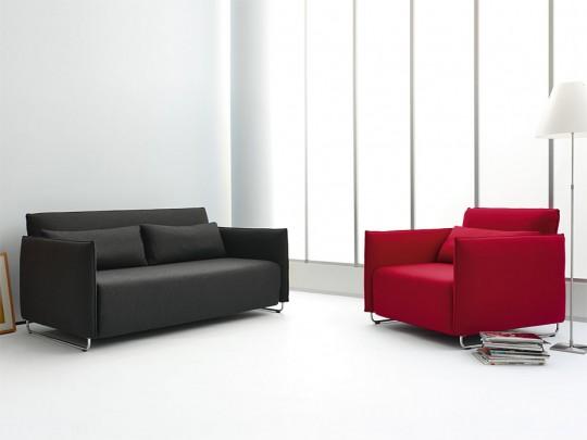 Canapé lit Cord gris