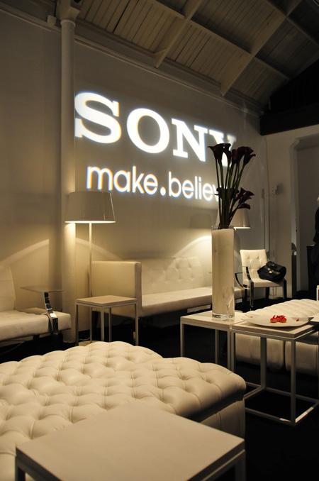 Soirée presse Sony