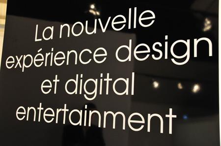 Nouvelle expérience design by Sony