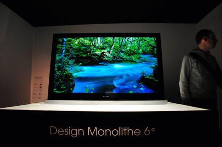 Téléviseur Sony Monolithe 2010
