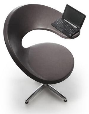 N@t, chaise de bureau design