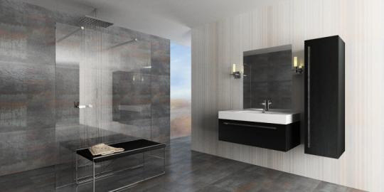 douche de pluie l 39 italienne. Black Bedroom Furniture Sets. Home Design Ideas