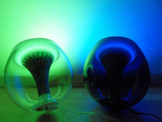 Philips Living colors génération 2 bleu et vert