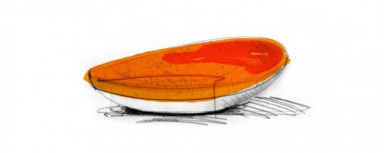 Canapé lounge Fragment par Adrien Guérin