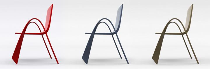 Chaise design Levanzo