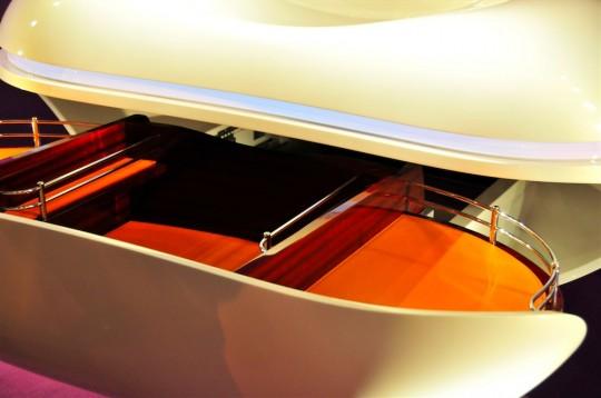 Détail rangement meuble DX130 Decotec