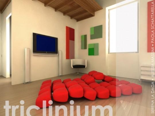 Sofa modulaire Triclinium