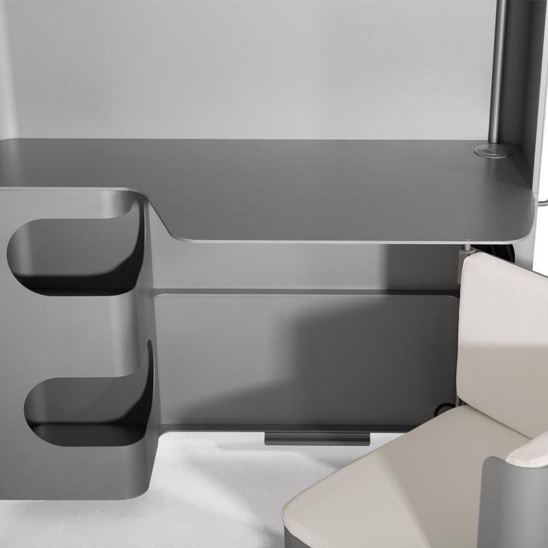 bureau m tallique boxoffice. Black Bedroom Furniture Sets. Home Design Ideas