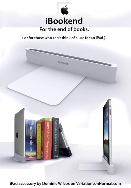 iPad serre-livres